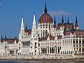 Hungarian Parliament Building from across the Danube, 2013 Budapest (485) (13227033134).jpg
