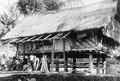 Hus i Koelawi. (1914) Lokal, Celebes. Mellan-Celebes, Paloe. Koelawi. Paloe. Indonesien - SMVK - 013336.tif