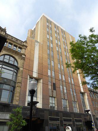 Westside, Baltimore - Former Hutzler's department store on Howard Street