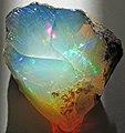Hydrophane opal (precious opal) dried out (Tertiary; Ethiopia) 3 (32711476645).jpg