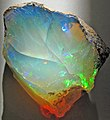 Hydrophane opal (precious opal) dried out (Tertiary; Ethiopia) 9 (32558884822).jpg