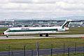 I-DACS MD-82 Alitalia FRA 03OCT08 (6909066663).jpg