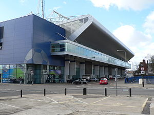 Portman Road - Sir Bobby Robson Stand with club store