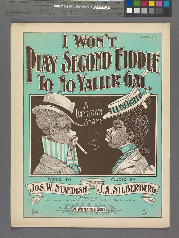 Filei Wont Play Second Fiddle To No Yaller Gal Nypl Hades 608706