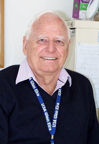 Ian Cathie - Ian Cathie, President of Glen Eira U3A