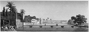 Ibrahim Bey (Mamluk) - Ibrahim Bey's mansion on Al-Rudah Island, near Cairo
