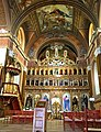 Iconostasis, Greek Catholic church, 2015 Mariapocs - panoramio.jpg