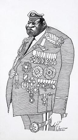 Idi Amin caricature2