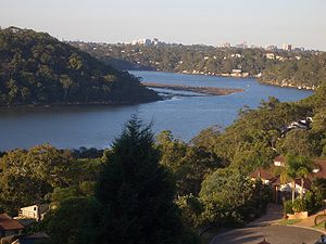 Georges River - Georges River from Illawong.