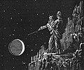 Illustration pour le livre 'Voyage à Sirius - au travers des mondes inconnus' de 'Paracelse (décembre 1869).jpg