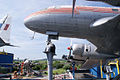 Ilyushin Il-14P Crate Bulgarian Air Transport LNose SATM 05June2013 (14414039420).jpg