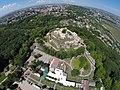 Imagine aeriană a Cetății de Scaun a Sucevei.jpg