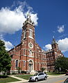 Immaculate Conception Convent Church and Sisters of St. Francis convent (Oldenburg, Indiana).jpg