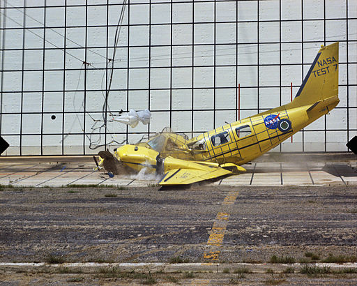 Impact Landing Dynamics Facility Crash Test - GPN-2000-001907