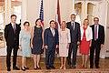 Ināra Mūrniece tiekas ar Amerikas Savienoto Valstu Pārstāvju palātas Ārlietu komisijas priekšsēdētāju (36479618965).jpg