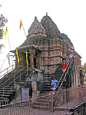 Matangeshvara temple, Khajuraho - Image: India 5633 Flickr archer 10 (Dennis)