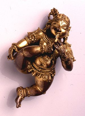 Bala Krishna -  Infant Krishna, 16th century.