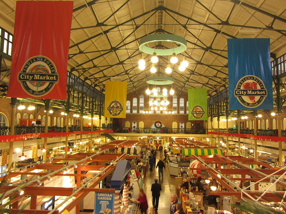 Indianapolis City Market interior