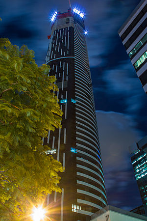 Infinity Tower (Brisbane) - Image: Infinity Tower (Brisbane) 2013 04