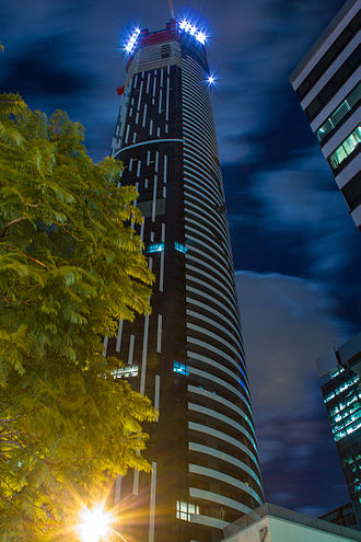 Infinity Tower (Brisbane) - Image: Infinity Tower (Brisbane) 2013 04