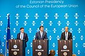 Informal meeting of economic and financial affairs ministers (ECOFIN). Press conference (36420946944).jpg