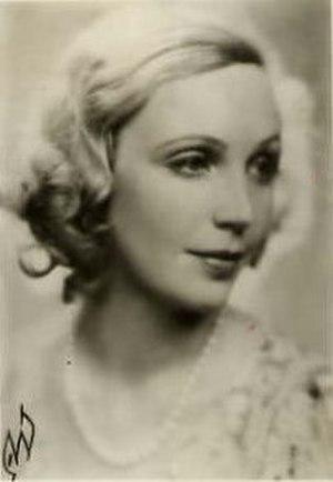 Inga Tidblad - Inga Tidblad in the 1930s.
