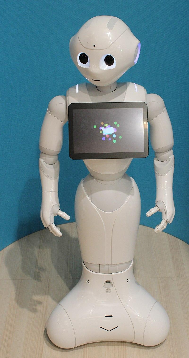 Abbildung des humanoiden Roboters 'Pepper'