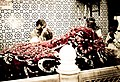 Inside the shrine of the Abdullah Shah Ghazi, patron saint of Karachi.jpg