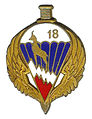Insigne du 18° RCP.JPG