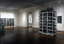 Installation + logic.. r.feldman gallery 1991