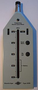 Integrating Sound Level Meter dB(A) Brüel Kjær 2225
