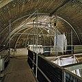 Interieur, overzicht beschilderde koorkap met tijdens restauratie werkzaamheden - Alkmaar - 20367659 - RCE.jpg