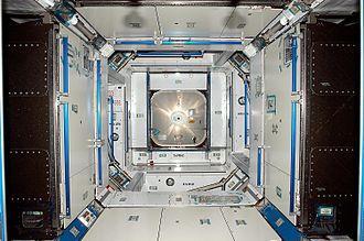 Harmony (ISS module) - Interior of Harmony.