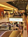 Interior of the Mall of Cyprus by night in Christmas time Nicosia Republic of Cyprus.jpg