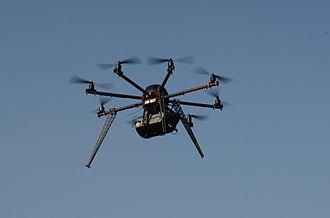 Miniature UAV - Interspect UAS B 3.1 Flying Laboratory