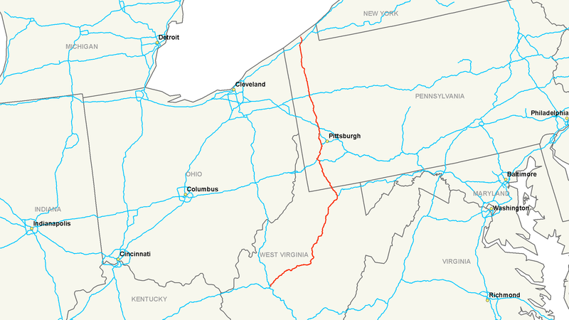 File:Interstate 79 map.png