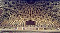 Intricate work on arch - Badshahi Mosque.jpg