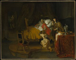 <i>Isaac Blessing Jacob</i> (Gerbrand van den Eeckhout) painting by Gerbrand van den Eeckhout