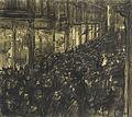 Isaac Israels The Kalverstraat 1 May 1909.jpg