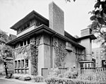 Isidore Heller House - East (front) and North elevations - HABS ILL,16-CHIG,48-1.jpg