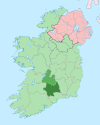 Island of Ireland location map South Tipperary.svg