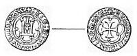 Isnardo Guarco - soldo (in Rivista italiana di numismatica 1896 (page 69 crop)).jpg