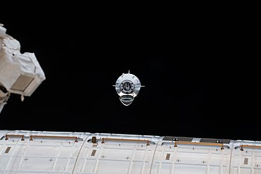 Iss058e027328 The uncrewed SpaceX Crew Dragon spacecraft on approach to the station's Harmony module.jpg