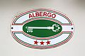 Italy Albergo three stars plaque 01.JPG
