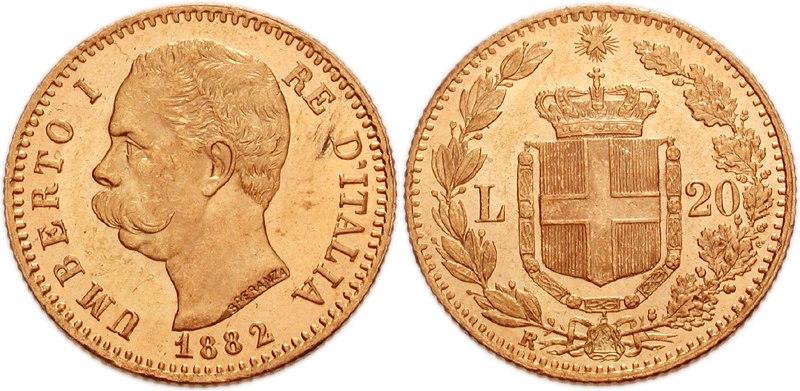 Italy Umberto I 20 lire 1930296