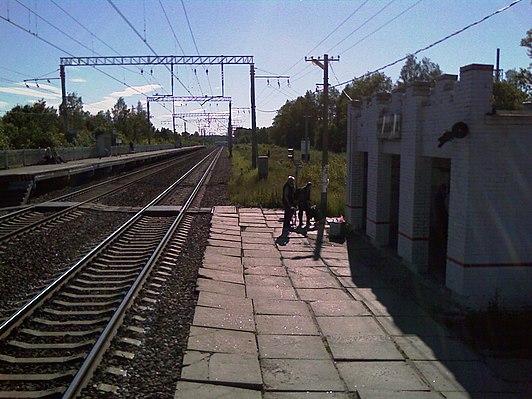 Ivanovskaya railway station