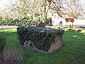 Ivy covered tomb in St Marys Churchyard, Shrewton - geograph.org.uk - 328245.jpg