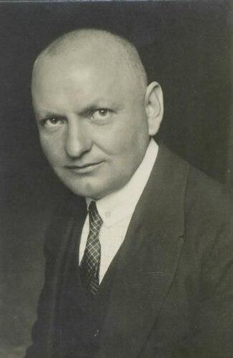 Izidor Cankar - Izidor Cankar in the 1920s