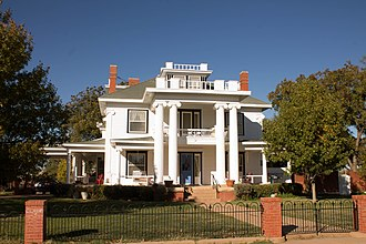 National Register of Historic Places listings in Jones County, Texas - Image: J.P. Astin House