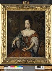 Portret van een vrouw, mogelijk Catharina Hoffer (1678-1707) Echtgenote van Adriaan Hoffer